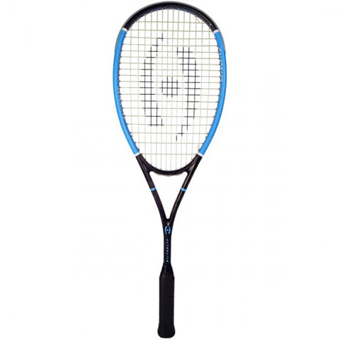 Harrow Stealth Ultralite RETRO Squash Racquet - Black/Carolina