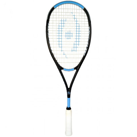 Harrow Stealth Ultralite Squash Racquet - Black/Carolina