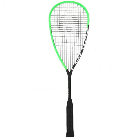 Harrow Turbo Squash Racquet - Black/Lime