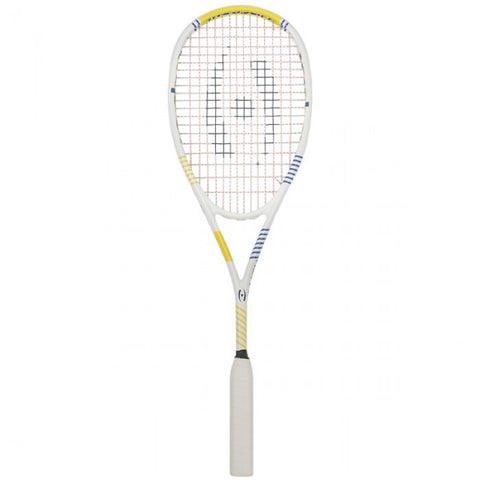 Harrow Vapor Squash Racquet - White/Royal/Yellow