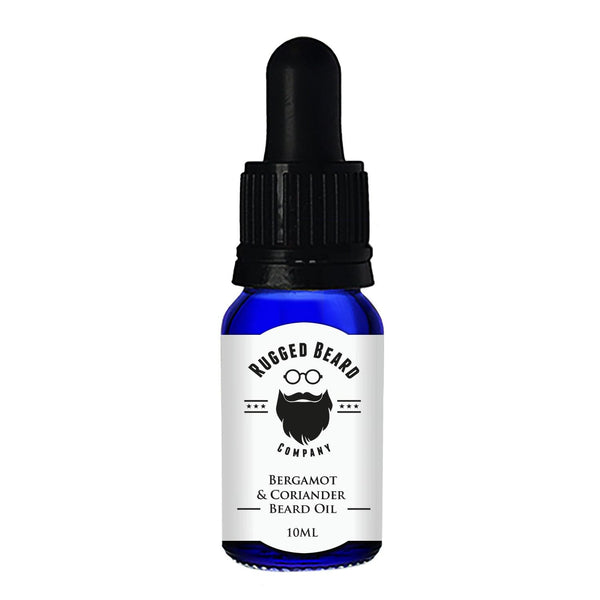 Bergamot and Coriander Beard Conditioning Oil - The Rugged Beard Company