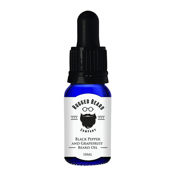 Black Pepper and Grapefruit Beard Conditioning Oil - The Rugged Beard Company