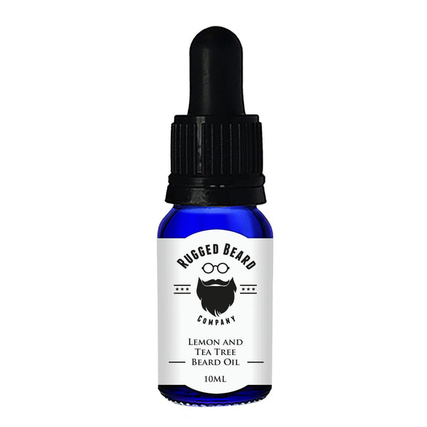 Lemon and Tea Tree Beard Conditioning Oil - The Rugged Beard Company