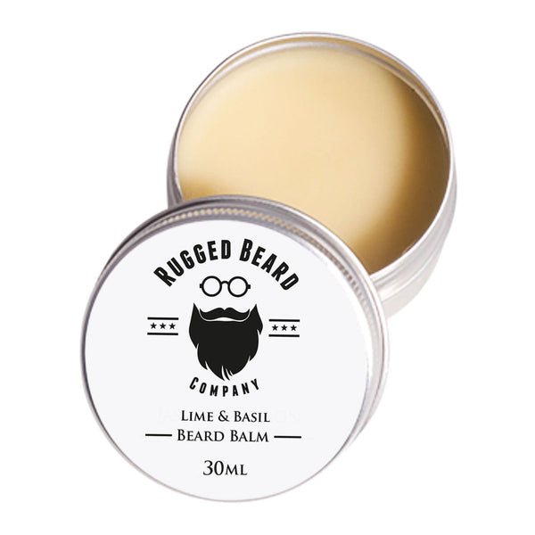 Lime & Basil Beard Balm - The Rugged Beard Company