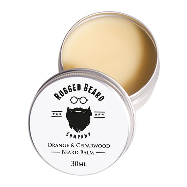 Orange and Cedarwood Beard Balm - The Rugged Beard Company
