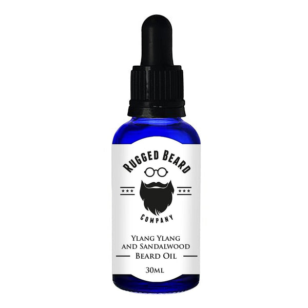 Ylang Ylang and Sandalwood Beard Conditioning Oil - The Rugged Beard Company