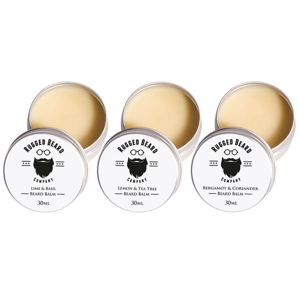 Beard Balm Trio - The Rugged Beard Company