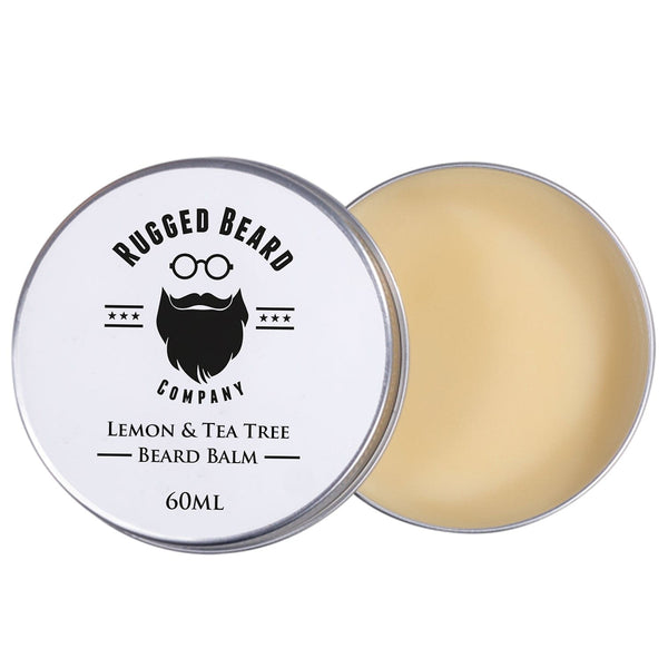 Lemon & Tea Tree Beard Balm - The Rugged Beard Company
