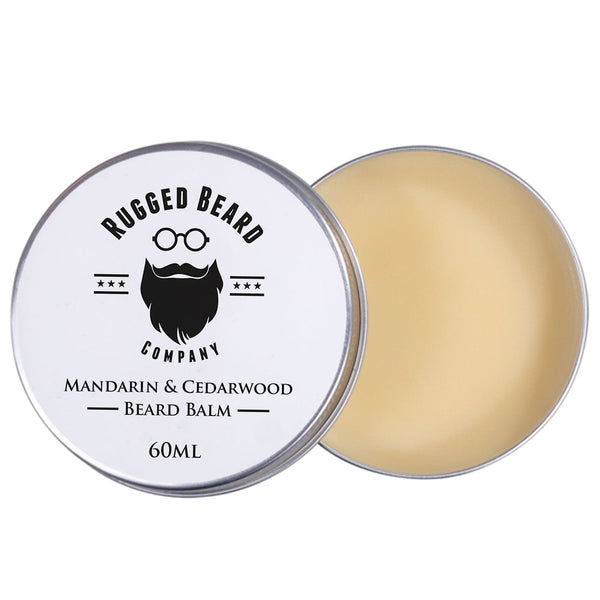 Mandarin & Cedarwood Beard Balm - The Rugged Beard Company