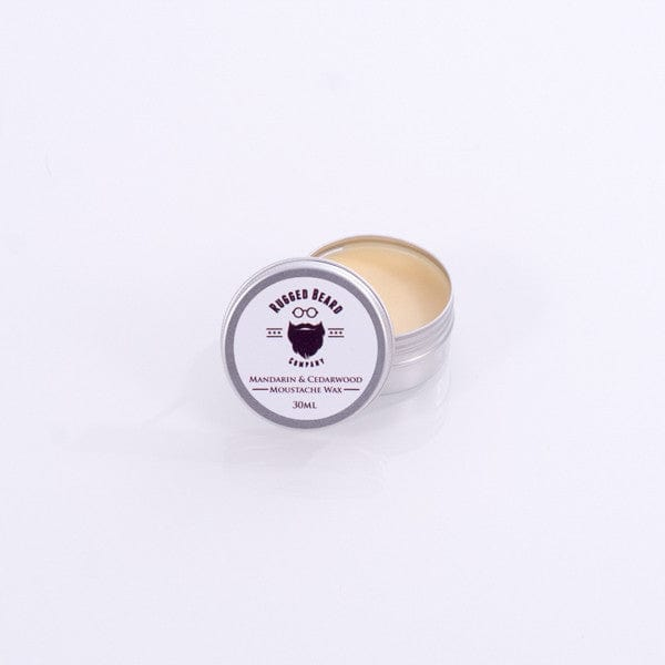 Mandarin & Cedarwood firm Moustache & Beard Wax - The Rugged Beard Company