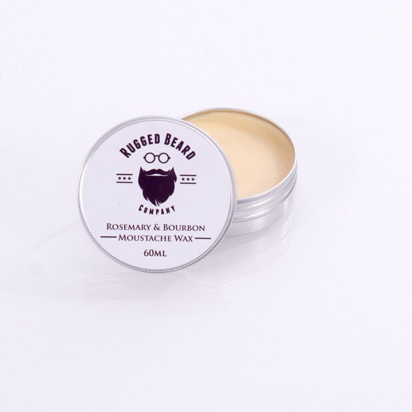 The Rugged Beard Company Rosemary & Bourbon firm Moustache & Beard Wax