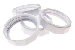 TOUGH BANDS <BR>Plastic Mason Jar Screw Bands <BR>(4-Pack | PDQ Tray Included)
