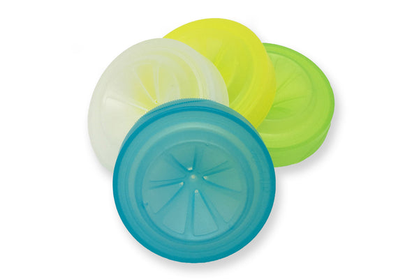 TRAP CAPS <BR> Fruit Fly Catching Lids <BR>(4-Pack | PDQ Tray Included)