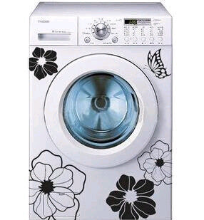 Appliances Flower and Butterfly Decals - neli