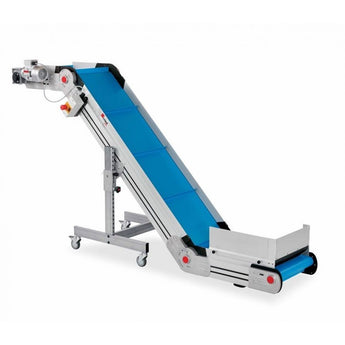 Inclined/Horizontal/Top Conveyor with PU/PVC Belt - Plastics Solutions USA