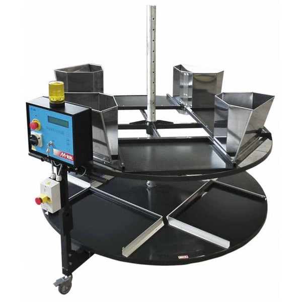 Double carousel for boxes - Plastics Solutions USA