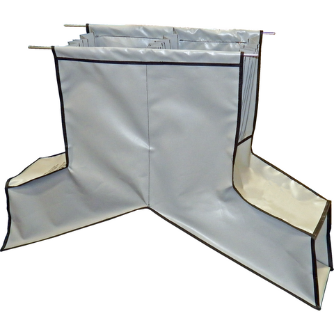 Front/Rear Dual Soft Chute Guideskirt - Plastics Solutions USA
