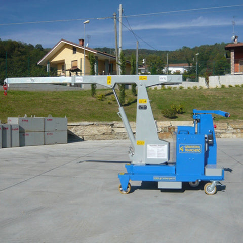 Electric Crane GB 500_TR Standard Series for Molds up to 500 kg