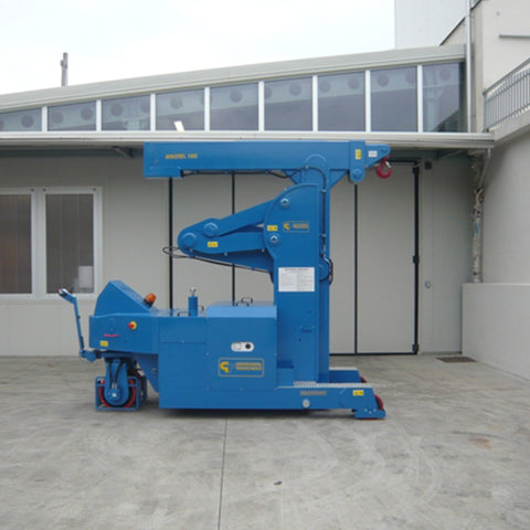 Electric Crane Minidrel 100S_HG Series for Molds up to 10,000 kg