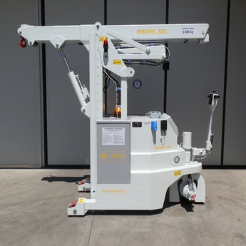 Electric Crane Minidrel 20SL_STD Series for Molds up to 2,000 kg