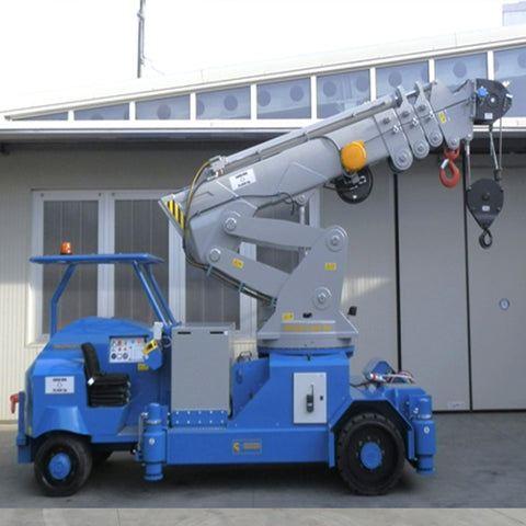Electric Crane Minidrel 250B_TRS Series for Molds up to 25,000 kg