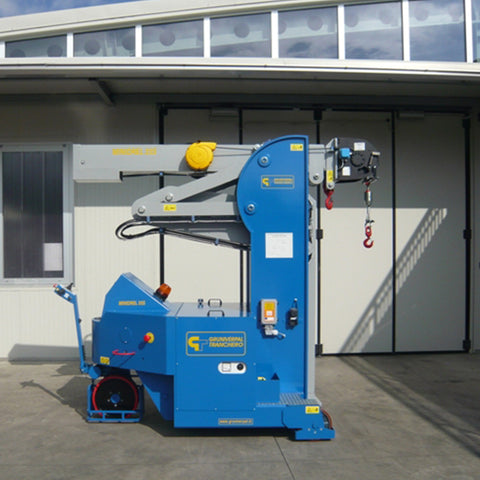 Electric Crane Minidrel 25S_HG Series for Molds up to 2,500 kg