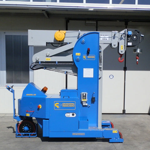 Electric Crane Minidrel 50S_HG Series for Molds up to 5,000 kg