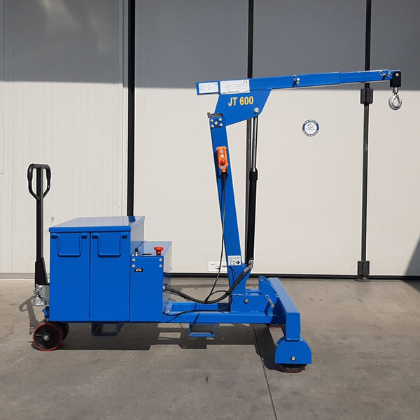 Electric or Semi-Automatic Mini Crane JT600 without Rotation for Molds up to 600 kg