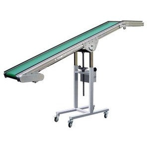 Inclined Conveyor Belt - Plastics Solutions USA