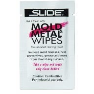 Mold & Metal Wipes (Single Wipe Packets) - Plastics Solutions USA
