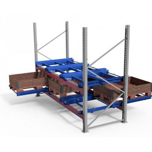Rack Mounted Pallet Pull Out Drawer (Model BM1220) - Plastics Solutions USA