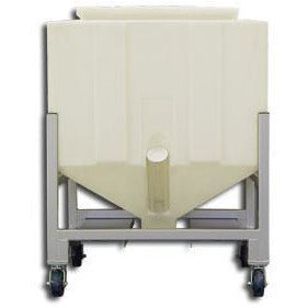 Resin Bin Model PS800C (800 Lbs. Capacity) - Plastics Solutions USA