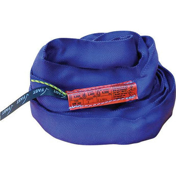 SPF 2200 (Blue) Polyester Round Slings - Plastics Solutions USA