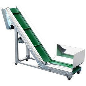 """L"" Style Conveyor Belt - Plastics Solutions USA"