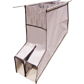 Side by Side Detachable Chute Guideskirt - Plastics Solutions USA