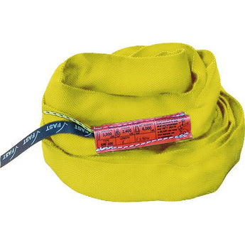 SPF 900 (Yellow) Polyester Round Slings - Plastics Solutions USA