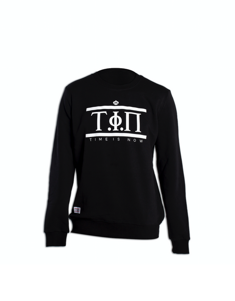 Signature Black & White Sweater-Time Is Now UK