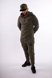 Olive Luxury Tracksuit Bottoms