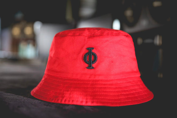 Red Bucket Hat-Time Is Now UK