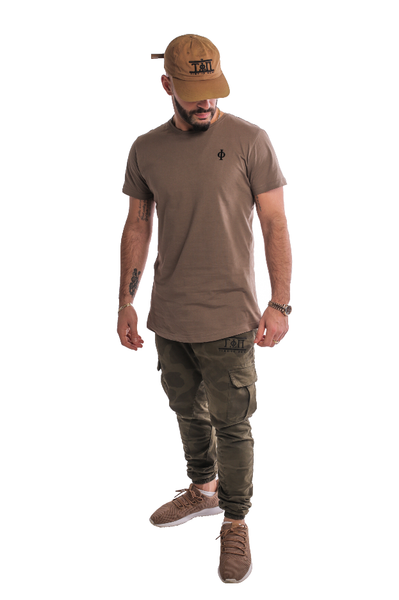 Army Green T-Shirt-Time Is Now UK