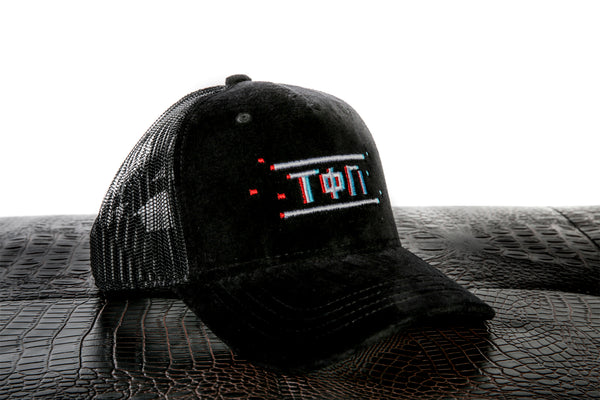 Velvet Mesh Pixel Cap-Time Is Now UK