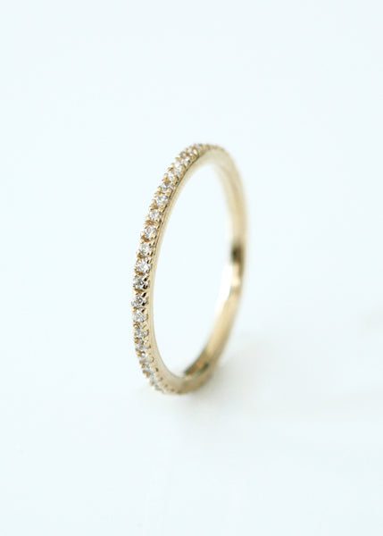 Gold Sparkly Ring
