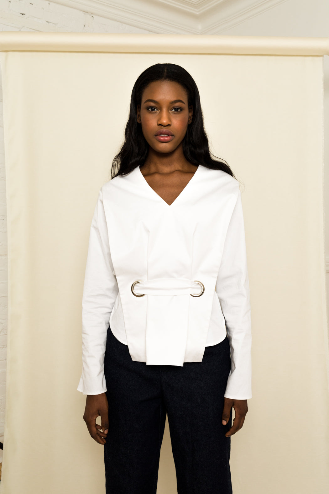 Alex White Cotton Shirt