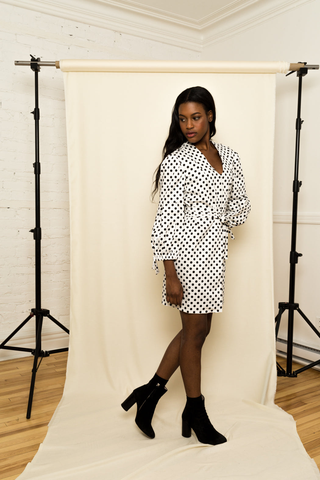 Franca Polka Dots Dress