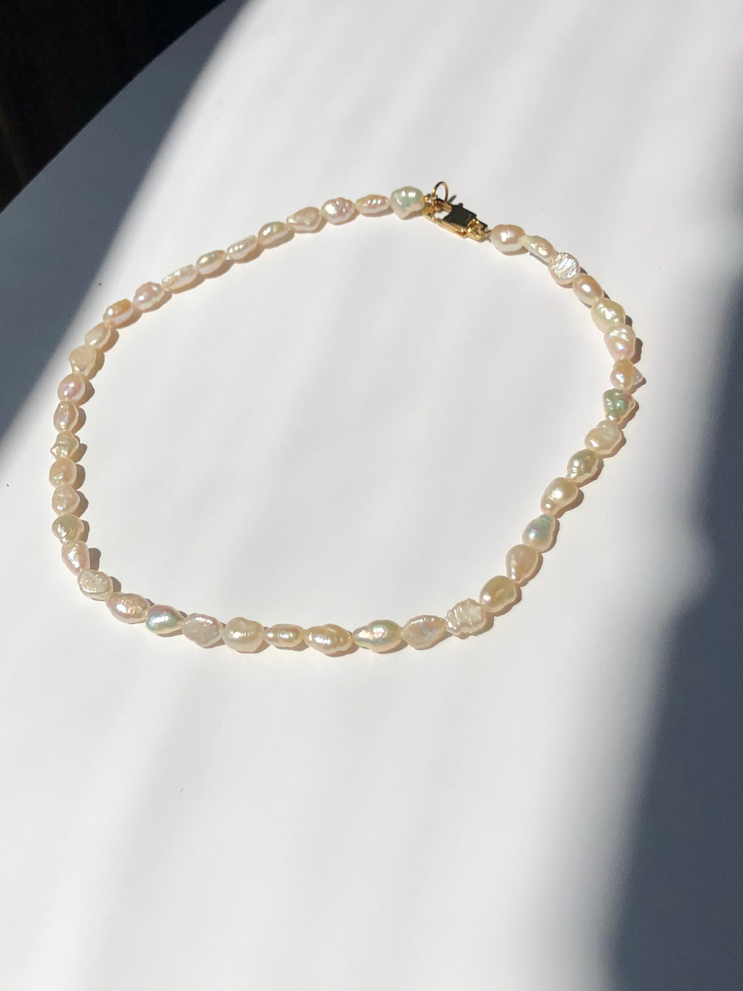 The Freshwater pearl necklace