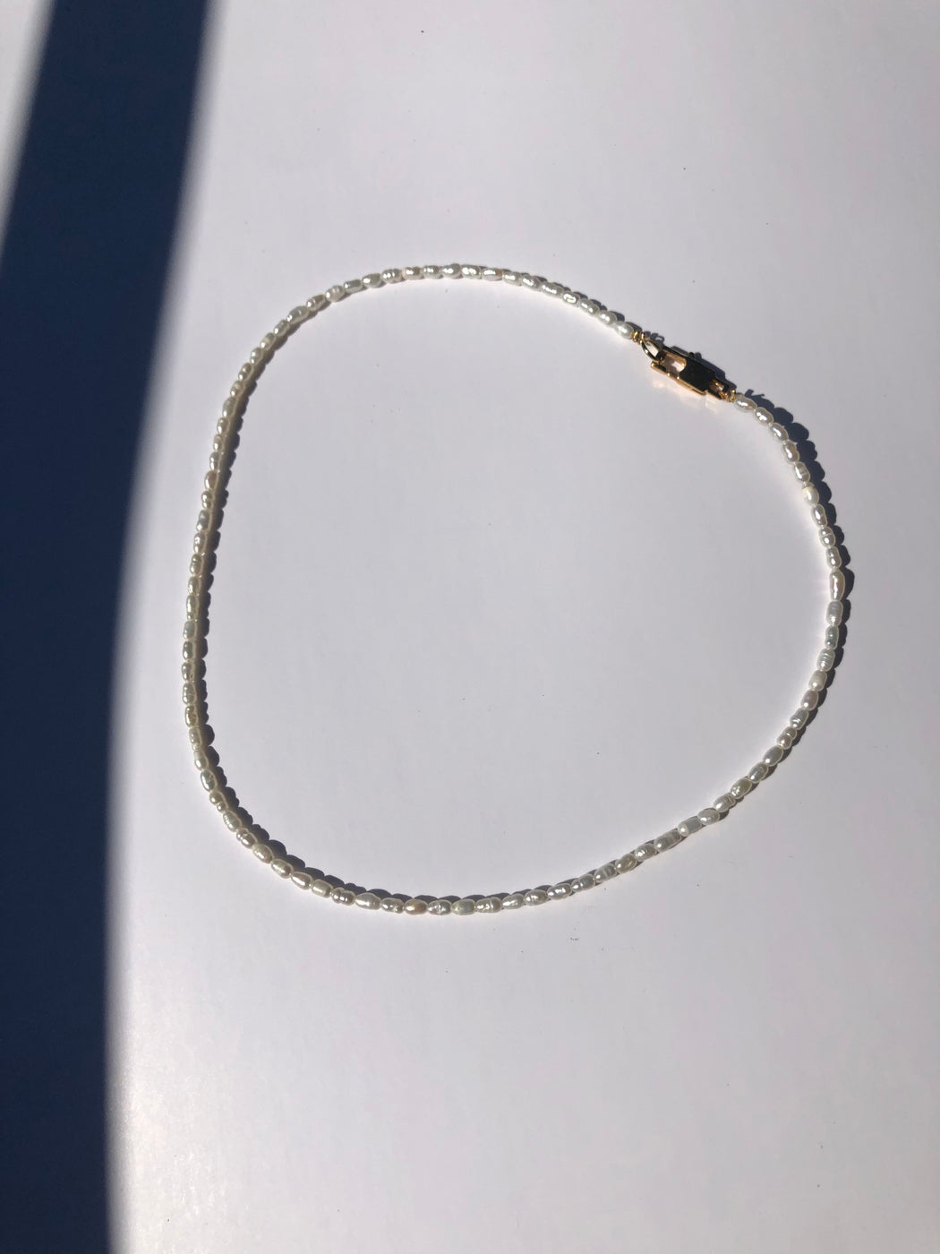 The Tiny Freshwater pearl choker
