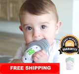Baby Safety Pacifier Glove for Teething