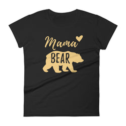 Mama Bear (Black) Women's t-shirt