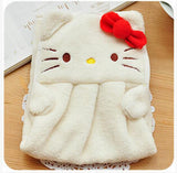Soft Animal Character Hand Towels