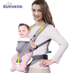 SUNVENO | Ergonomic Breathable Front Facing Baby Carrier